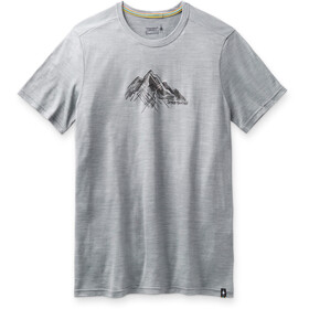 Smartwool Merino Sport 150 Shirt Rocky Range Graphic Men, light gray heather